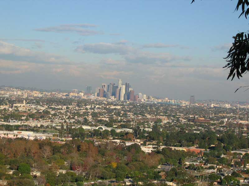 Kenneth Hahn Recreation Area, Los Angeles, California